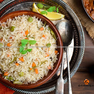 Vegetable Pulao Coconut Recipes.