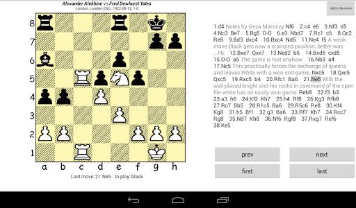 Chesser - a free chess viewer 1.7 screenshots 5