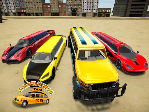 Limousine Taxi 2020: Luxury Car Driving Simulator android2mod screenshots 5