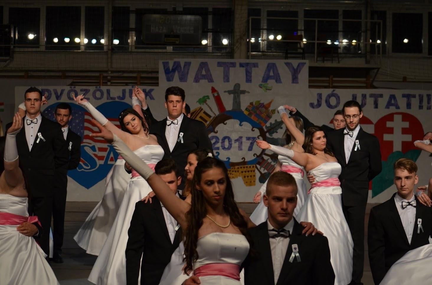 Wattay Szalagavató 2017