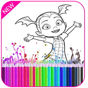 Call sponge boob simulator mobile app store sdk rankings and coloring book for vampirina fun drawing game coloring book for princess call sponge boob voltagebd Gallery