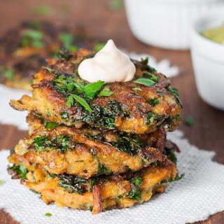 Sweet Potato & Kale Veggie Cakes