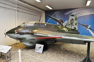 Photo: Samolot rakietowy Me-163 Komet z okresu II Wojny Światowej