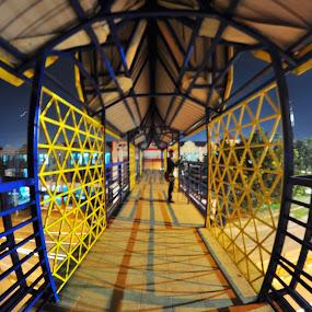 Depth in Field by Muhammad Fadhil - City,  Street & Park  Night ( dof samyang fisheye,  )