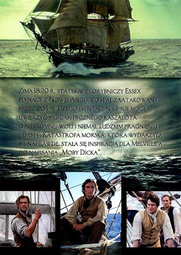 Tył ulotki filmu 'W Samym Sercu Morza'