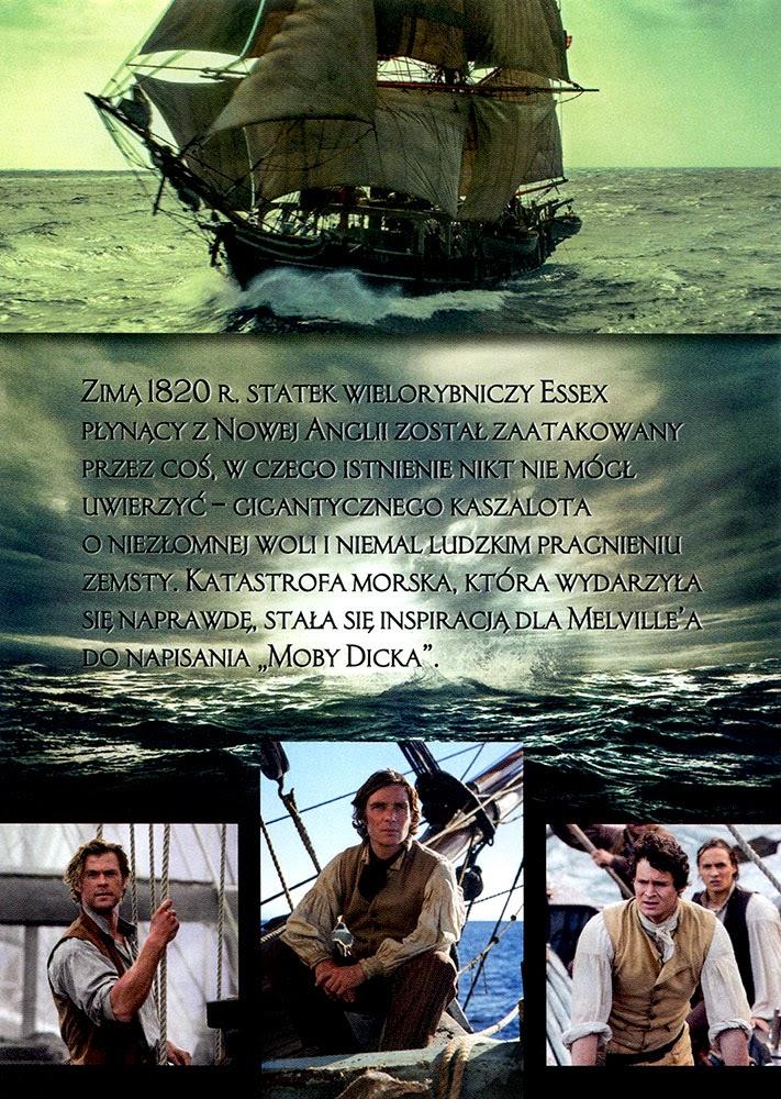 Ulotka filmu 'W Samym Sercu Morza (tył)'
