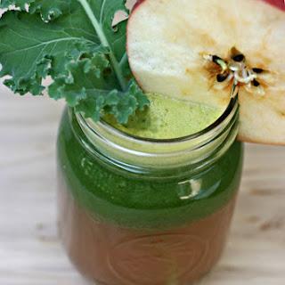 Kale, Apple, Ginger Juice.