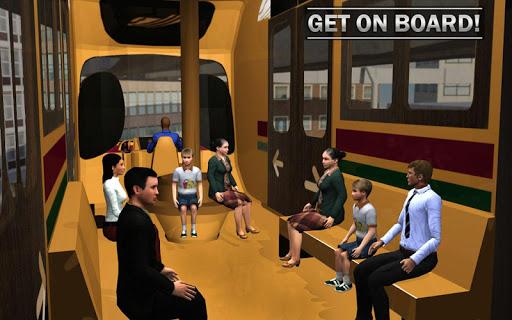 Elevated Train Driving Simulator: Sky Tram Driver apktram screenshots 13