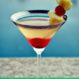 Pineapple Upside Down Cake Martini.