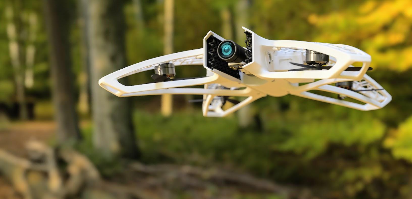 Реагирование на катастрофы с 3D-печатными беспилотными летательными аппаратами