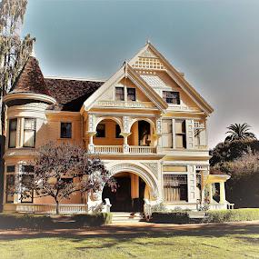 Ardenwood Historic Farm, Fremont, CA. by Nancy Gray - Buildings & Architecture Public & Historical