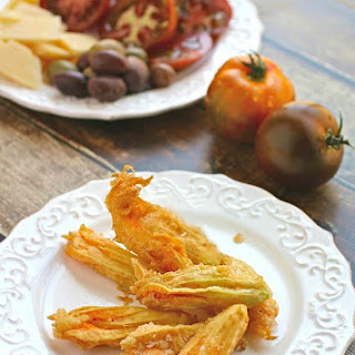 Fried Zucchini Blossoms.