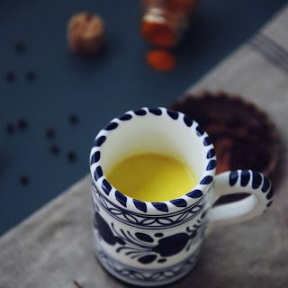 Golden Milk with Turmeric and Black Pepper Recipe