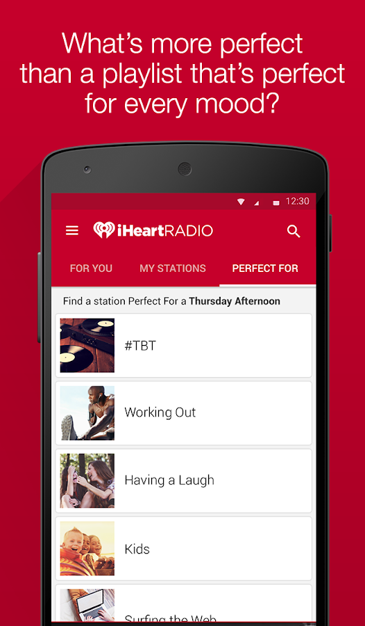 iHeartRadio - Radio & Music - screenshot