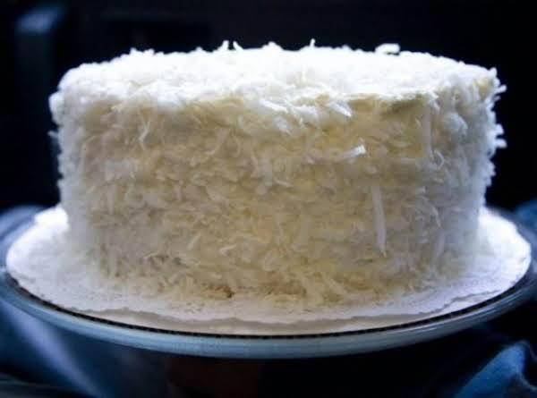 Lemon Coconut Pound Cake Recipe