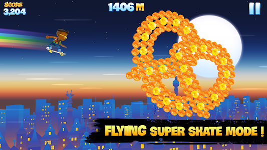 Skyline Skaters v2.6.0 (Unlimited Coins & Bucks)