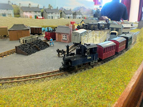 Photo: 012 0-6-0T No.1 Lina passes on the continuous run with a short passenger train .