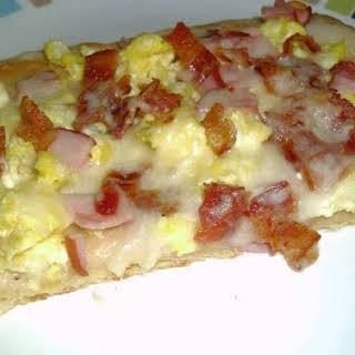 Breakfast Pizza.