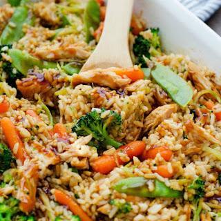 Teriyaki Chicken Casserole #Recipe