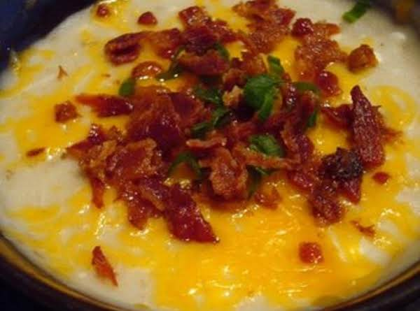 Slow Cooker Baked Potato Soup Recipe