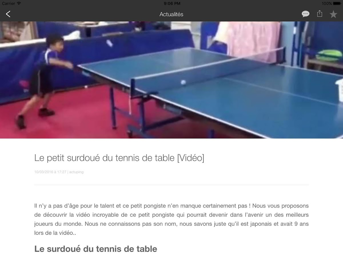 Digiping tennis de table applications android sur google for Tennis de table zone 6