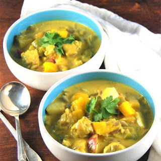 Vegan Jamaican Mango Stew.