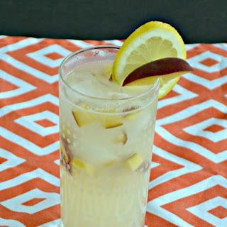 Spiked Peach Lemonade.
