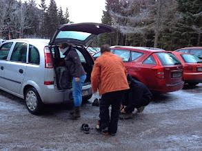 Photo: Preparing ... Parkplatz ist bereits voll