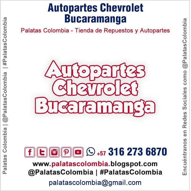 Autopartes Chevrolet Bucaramanga