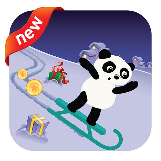 Panda Sled Adventure
