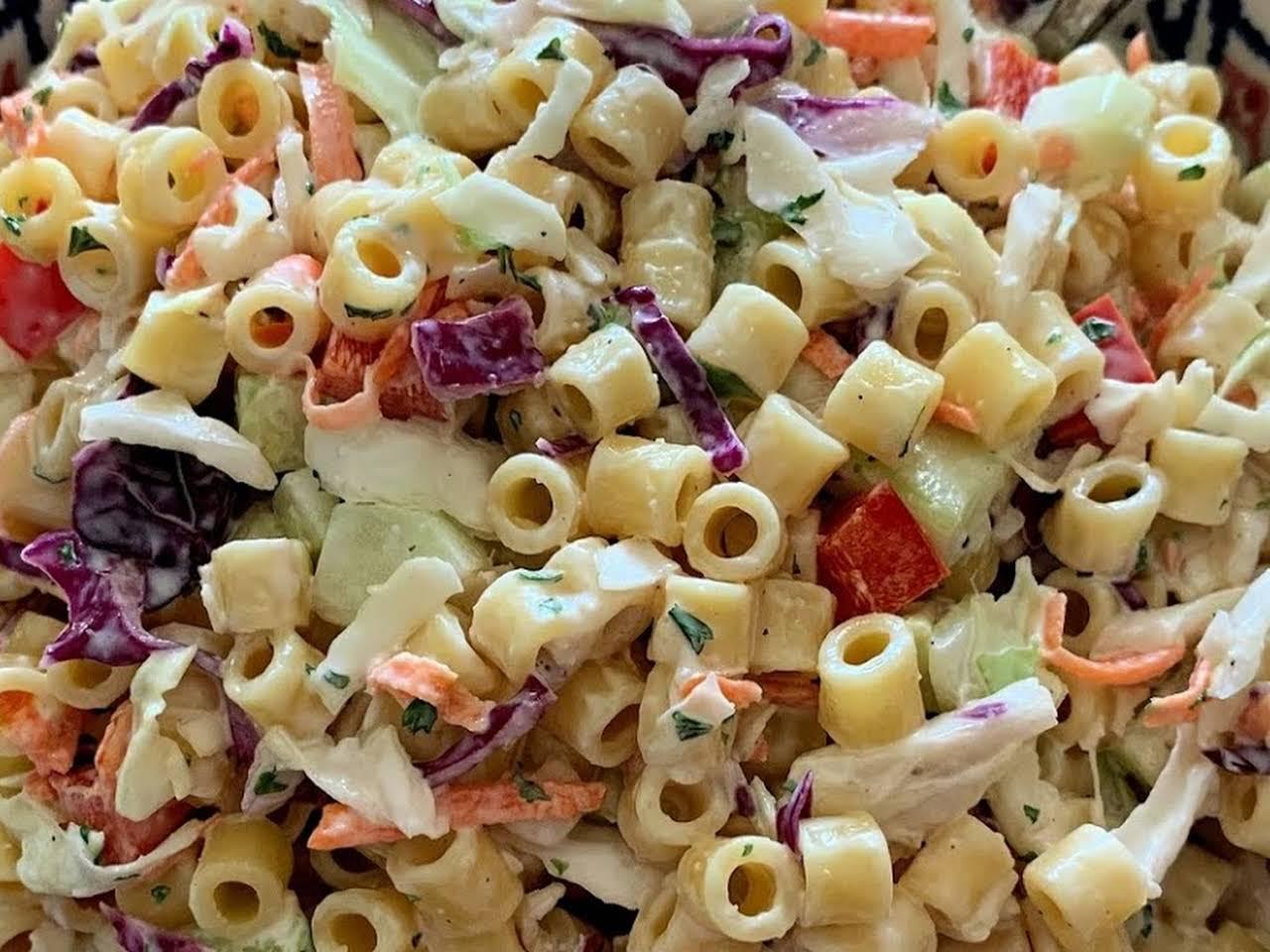 Macaroni Salad Recipe Ditalini