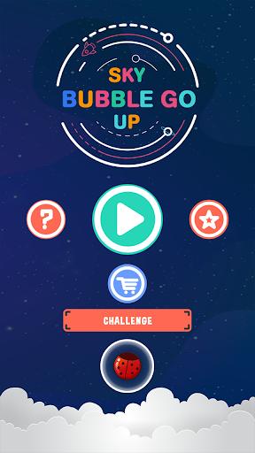 Sky Bubble Go Up screenshot 1