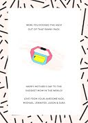 Mom's Fanny Pack - Mother's Day Card item