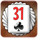 ♣ Thirty one - 31 card game icon