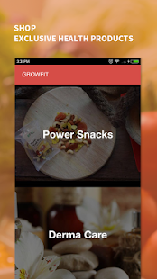 Grow Fit : Nutrition & Diet- screenshot thumbnail