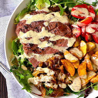 Steak and Potato Bowls.