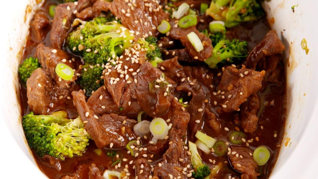 Image result for Slow cooker broccoli beef