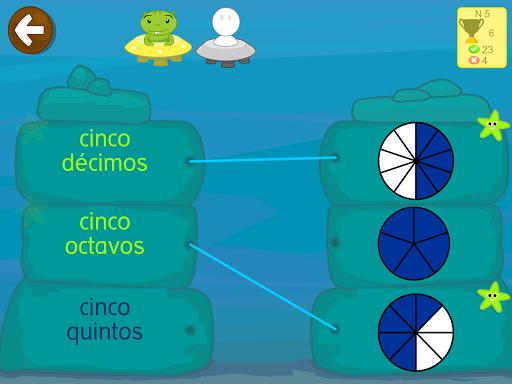 Matemu00e1ticas con Grin II 678 multiplicar fracciones  screenshots 15