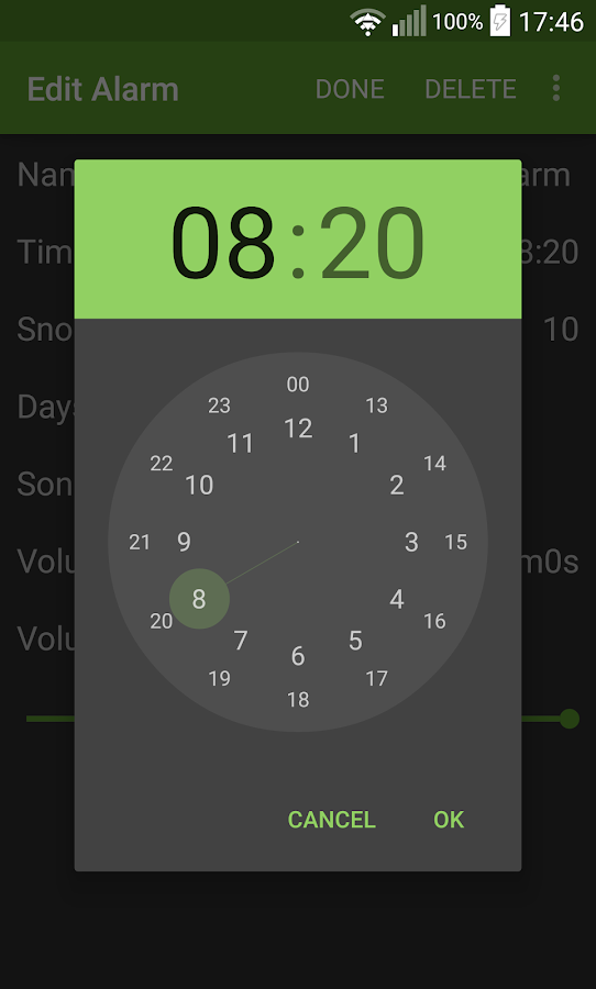 Wakeify - Spotify Alarm- screenshot