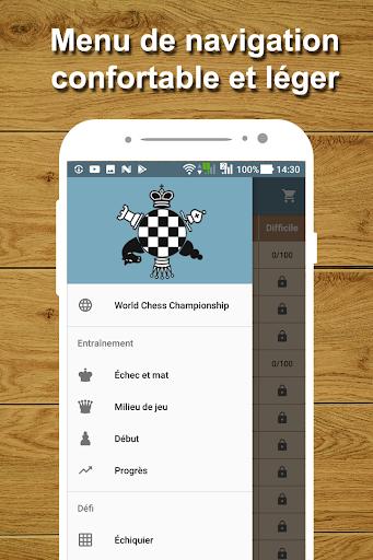 Entraîneur d'échecs - Problèmes d'échecs  captures d'écran 1
