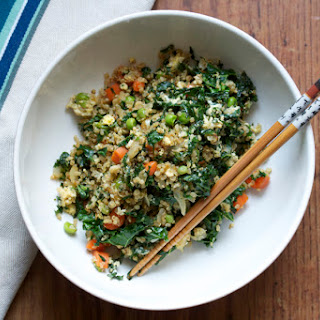 Asian-Style Fried Quinoa with Vegetables (GF)