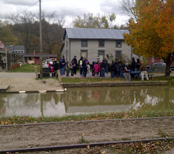 Photo: Metamora IN -waiting for the boat on the Whitewater Canal