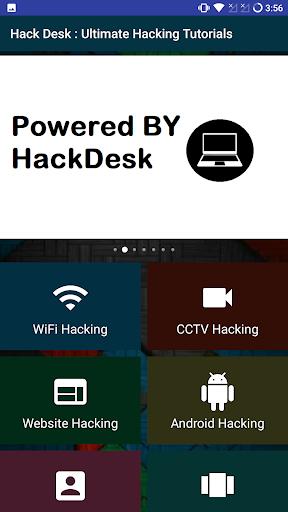Download HackDesk : Hacking Tutorials Google Play softwares