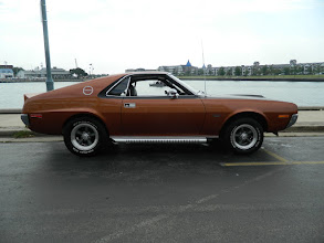Photo: Colin and Suzanne Hillyard's '70 AMX