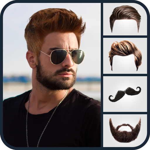 Man Hair Mustache Style Photo Editor