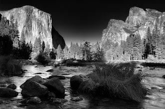 Photo: I am really inspired by all the Yosemite photos on G+ and from the #G+Yosemite2011 #G-Yosemite2012 PhotoWalk. I really wish I could be there but for many reasons it was not possible (the distance between London and Yosemite being probably the key one..). Anyway that's exactly what I love about G+. There is so much great stuff which really inspires me. Although I could not go to this PhotoWalk it made me go through my Yosemite photos and I discovered this one from a long time ago. Hope you like it. Happy New Year to all of you guys and lots of good light to all the photographers out here!  #Photography #potd #Monocrome #FineArtPls #PlusPhotoExtract