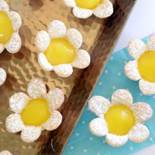 Mini Lemon Flower Tarts Recipe
