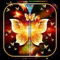 Golden Butterfly Zipper LS icon
