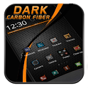 Black Carbon Fiber Theme icon