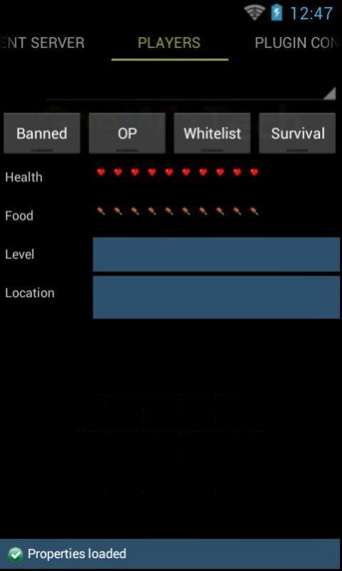 Скриншот Remote Admin For Minecraft (F)